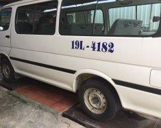 Bán lại xe Toyota Hiace sản xuất 2000, màu trắng, giá rẻ như cho giá 38 triệu tại Phú Thọ
