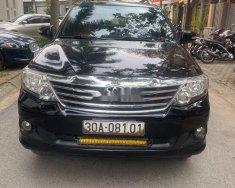 Bán Toyota Fortuner 2013, màu đen, xe gia đình giá 630 triệu tại Hà Nội