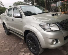 Bán giá ưu đãi với chiếc Toyota Hilux sản xuất năm 2013, màu bạc giá cạnh tranh giá 410 triệu tại Hà Nội