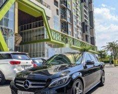 Cần bán lại xe Mercedes C class năm sản xuất 2015, màu đen, nhập khẩu giá 1 tỷ 280 tr tại Tp.HCM