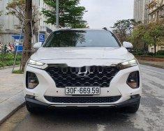 Cần bán Hyundai Santa Fe 2.4LAT đời 2019, màu trắng số tự động giá 1 tỷ 120 tr tại Hà Nội