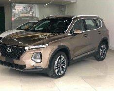 Bán Hyundai Santa Fe đời 2019, màu vàng cát giá 1 tỷ 105 tr tại Đà Nẵng