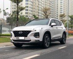 Bán Hyundai Santa Fe đời 2018, màu trắng như mới giá 1 tỷ 85 tr tại Hà Nội