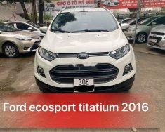 Bán Ford EcoSport năm 2016, màu trắng   giá 475 triệu tại Hà Nội
