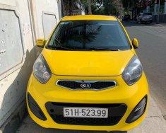 Cần bán xe Kia Morning đời 2014, màu vàng giá 214 triệu tại Tp.HCM