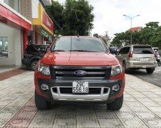 Bán Ford Ranger Wildtrak đời 2015, màu đỏ, nhập khẩu nguyên chiếc chính chủ giá 565 triệu tại Phú Thọ