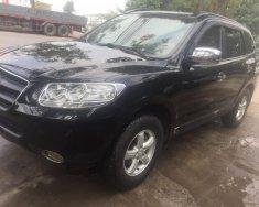 Gia đình cần bán nhanh chiếc Hyundai Santa Fe sản xuất 2008, màu đen, xe nhập, giá thấp giá 385 triệu tại Hà Nội