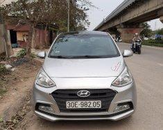 Bán nhanh giá thấp với chiếc Hyundai Grand i10 sedan 1.2 MT, đời 2017, màu bạc, giao nhanh giá 340 triệu tại Hà Nội