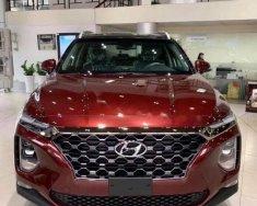 Cần bán Hyundai Santa Fe năm sản xuất 2020, màu đỏ giá 1 tỷ 135 tr tại BR-Vũng Tàu