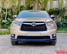 Bán xe Toyota Highlander năm sản xuất 2016, màu vàng, nhập khẩu nguyên chiếc giá 1 tỷ 590 tr tại Hà Nội
