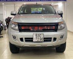 Cần bán Ford Ranger 2014, màu bạc, nhập khẩ  giá 415 triệu tại Tp.HCM