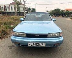 Bán xe Toyota Camry sản xuất năm 1989, màu xanh, nhập khẩu chính chủ giá 75 triệu tại Bình Dương