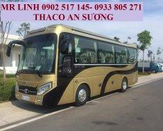 Thông số kĩ thuật xe khách 29 chỗ Thaco mới 2020 -TB85S giá 1 tỷ 610 tr tại Tp.HCM
