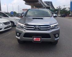 Xe Toyota Hilux sản xuất 2015, màu bạc, nhập khẩu chính hãng, giá chỉ 690 triệu giá 690 triệu tại Tp.HCM