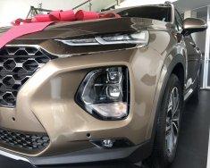 Bán xe Hyundai Santa Fe 2019, màu nâu giá 1 tỷ 80 tr tại Gia Lai