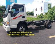 Bán xe tải Jac 4T9 (4.9 tấn) thùng dài 4.3 mét, thắng hơi lốc kê 2019 giá 410 triệu tại Tp.HCM