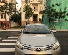 Cần bán Toyota Vios E đời 2015, màu vàng giá 325 triệu tại Hà Nội