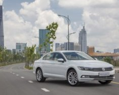Volkswagen Passat Bluemotion High nhập khẩu nguyên chiếc, xe sẵn, tặng 100% phí trước bạ . Giảm tiền lên 240tr giá 1 tỷ 380 tr tại Quảng Ninh