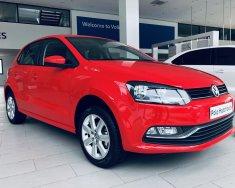 Bán Volkswagen Polo đời 2018, màu đỏ, nhập khẩu nguyên chiếc giá 695 triệu tại Quảng Ninh