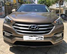 Xe Hyundai Santa Fe 2.2 đời 2018, màu nâu, giá 905tr giá 905 triệu tại Hà Nội