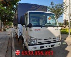 Xe tải thùng Isuzu 1t9 thùng mui bạt dài 6m2 - Hỗ trợ trả góp giá 520 triệu tại Tp.HCM