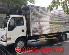 Xe tải Isuzu Vĩnh Phát 1.9 tấn thùng kín siêu dài 6.2m, trả trước 100 triệu nhận xe ngay giá 520 triệu tại Bình Dương