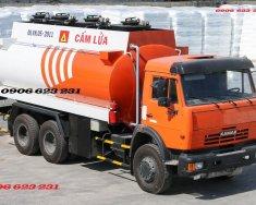 Xe bồn xăng dầu Kamaz 18m3, Kamaz xăng dầu 18m3   giá 1 tỷ 300 tr tại Tp.HCM