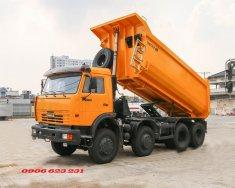 Xe ben Kamaz 6540, xe ben 20 tấn Kamaz thùng vuông tại Bình Dương giá 1 tỷ 300 tr tại Tp.HCM