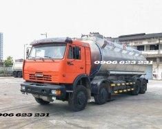 Xe bồn xăng dầu Kamaz 25m3 (Bồn Nhôm), xe bồn xăng dầu 25m3 giá 1 tỷ 900 tr tại Tp.HCM