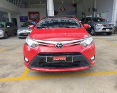 Bán xe Vios G sx 2014 màu đỏ xe chạy 75.000 xe TP, giá còn giảm sâu  giá 470 triệu tại Tp.HCM