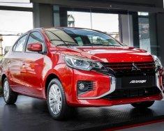 Bán ô tô Mitsubishi Attrage CVT 2020, màu đỏ, nhập khẩu giá 460 triệu tại Nghệ An