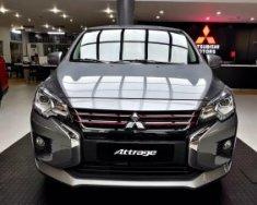 Cần bán Mitsubishi Attrage CVT đời 2020, màu xám, nhập khẩu chính hãng giá 460 triệu tại Nghệ An