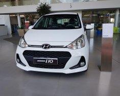 Bán Hyundai Grand i10 1.2MT đời 2020, màu trắng giá cạnh tranh giá 370 triệu tại Gia Lai