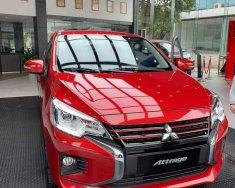 Cần bán Mitsubishi Attrage CVT năm 2020, màu đỏ, nhập khẩu chính hãng giá 460 triệu tại Nghệ An