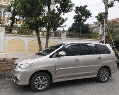 Bán xe Toyota Innova E đời 2016, màu vàng cát, như mới giá 420 triệu tại Hà Nội