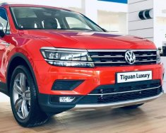 Bán Volkswagen Tiguan Topline 2020, màu đỏ, nhập khẩu nguyên chiếc giá 1 tỷ 799 tr tại Quảng Ninh