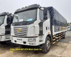 Đại lý bán xe tải Faw 8 tấn (8T), thùng dài 9m8 chở hàng nhẹ, siêu dài giá 970 triệu tại Tp.HCM