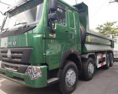 Bán xe ben Howo 4 chân (8x4) nhập khẩu nguyên chiếc, thùng đúc giá 1 tỷ 240 tr tại Tp.HCM