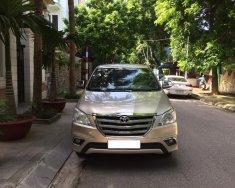 Bán xe Toyota Innova 2.0E đời 2016, màu vàng, chính chủ giá 425 triệu tại Hà Nội