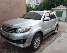 Cần bán xe Toyota Fortuner đời 2014, màu bạc, giá tốt giá 620 triệu tại Hà Nội