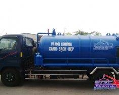 Bán xe hút chất thải 3 khối Hyundai HD72 giá 350 triệu tại Tp.HCM