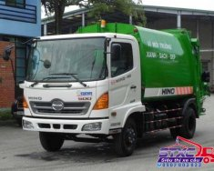 Bán xe ép rác Hino 9 khối FC9JESW giá 400 triệu tại Tp.HCM