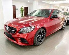 Xe Mercedes C300 AMG năm 2020, màu đỏ giá 1 tỷ 740 tr tại Hà Nội