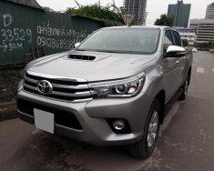Bán Toyota Hilux G bản 3.0 màu xám 2016 tự động full rất đẹp giá 633 triệu tại Tp.HCM