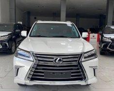 Bán Lexus LX570 màu trắng, model và đăng kỹ 2020 mới 99.9%, lăn bánh 6000 Km, hóa đơn đủ giá 7 tỷ 960 tr tại Hà Nội