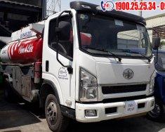 Xe téc chở nhiên liệu xăng dầu 7 khối (7m3), xe tải chuyên dùng chất lượng giá 395 triệu tại Tp.HCM