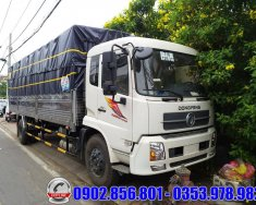 Xe tải Dongfeng Hoàng Huy 9 tấn B180 thùng dài chở bao bì giá 450 triệu tại Bình Dương