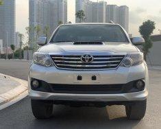 Bán xe Toyota Fortuner 2.5G 2014, màu bạc giá 665 triệu tại Hà Nội