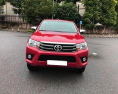 Nhà cần bán Toyota Hilux 2017, màu đỏ, số tự động, máy dầu giá 667 triệu tại Tp.HCM
