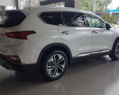Bán Hyundai Santa Fe 2.4 xăng cao cấp 2020, màu trắng giá 1 tỷ 175 tr tại Đắk Nông